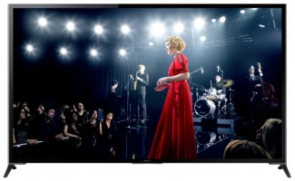 New Sony 4k XBR Ultra HD TVs on display at CES 2014