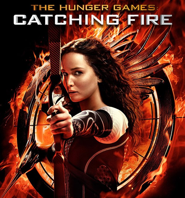 The Hunger Games Catching Fire Blu-ray DVD Digital HD