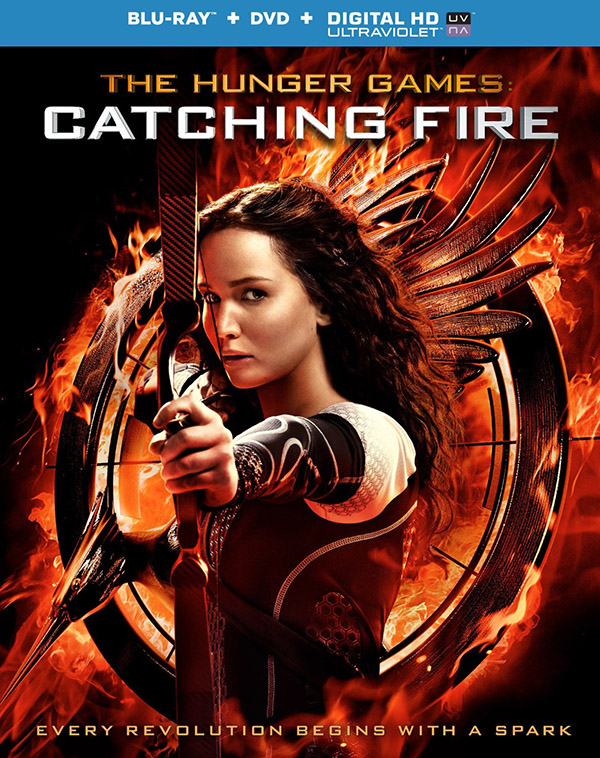 The Hunger Games: Catching Fire Blu-ray/DVD/Digital HD 43% off List Price