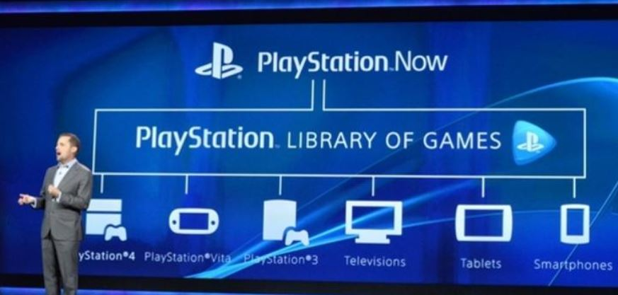 Sony announces PlayStation Now game streaming service