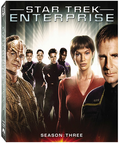 star trek enterprise season 3 blu-ray 3d