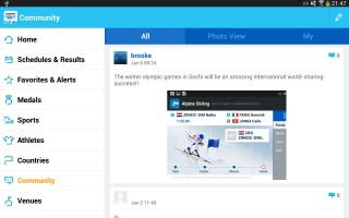 Samsung launches Olympics Sochi 2014 app for mobile devices