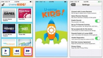 AT&T promotes U-verse KIDS! app for tablets and phones
