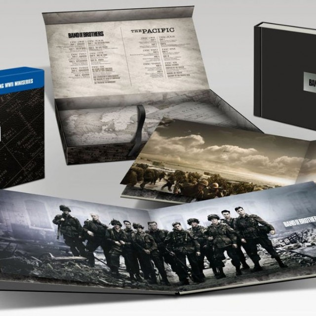 band of brothers the pacific special blu-ray edition