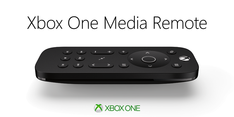 Microsoft announces Xbox One Media Remote