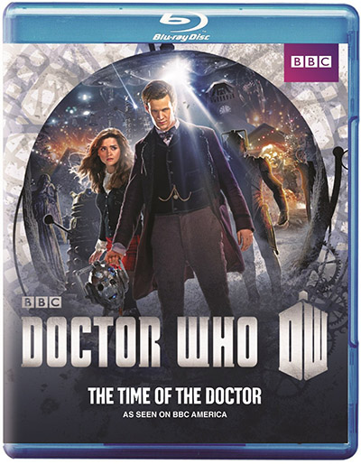 Doctor Who The Time of the Doctor Blu-ray
