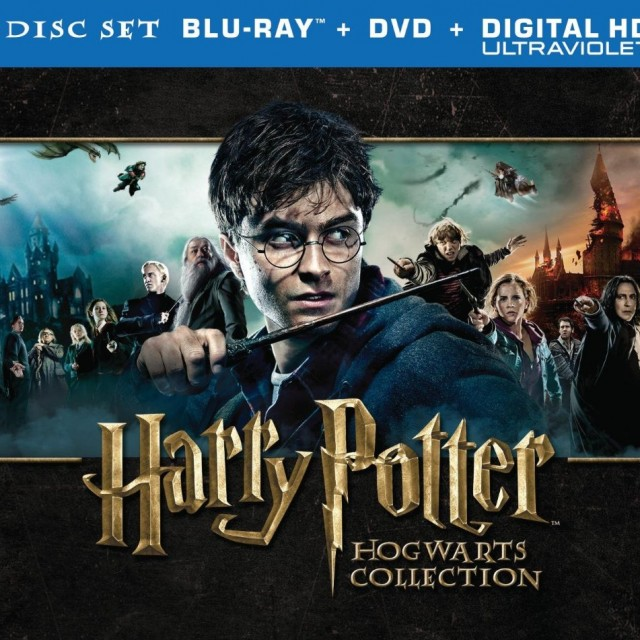 Harry Potter Hogwarts Collection Blu-ray Front