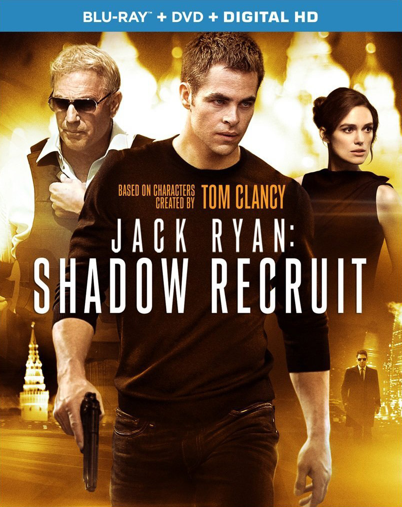 Jack Ryan: Shadow Recruit Blu-ray, Digital HD release dates announced