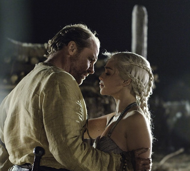 Game of Thrones Fire And Blood Daenerys Targaryen Jorah Mormont 1024
