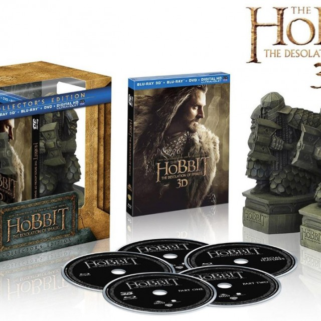 The Hobbit The Desolation of Smaug Limited Edition with Book Ends