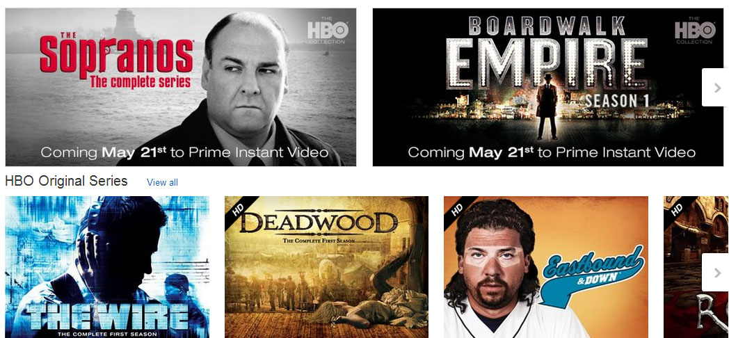 Amazon Prime Instant Video members to get HBO shows