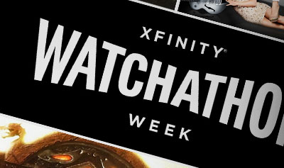 Comcast Xfinity Watchathon continues through Weekend