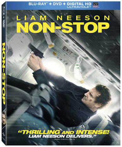 Non-Stop Blu-ray Package Art