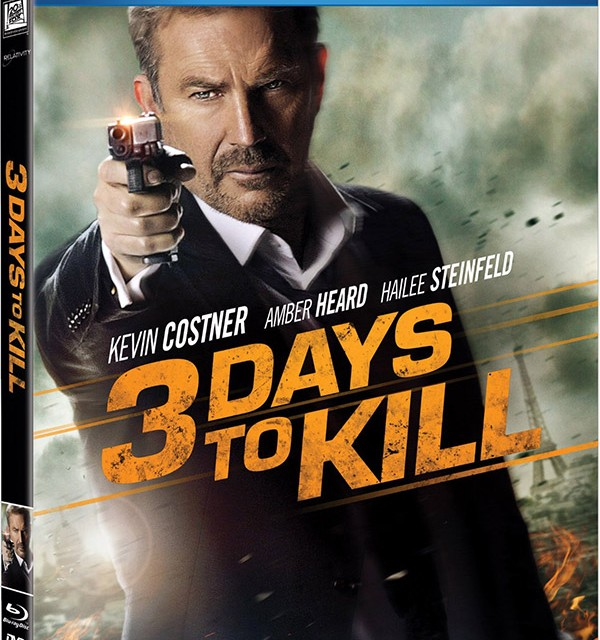 3 days to kill blu-ray
