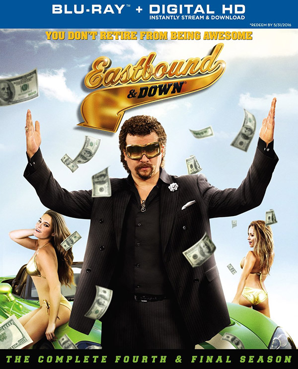 Eastbound & Down Season 4 Blu-ray