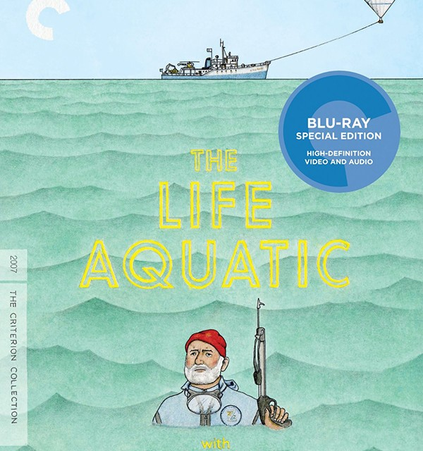 The Life Aquatic with Steve Zissou Criterion Collection Blu-ray