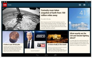 CNN App for Android devices gets overhaul