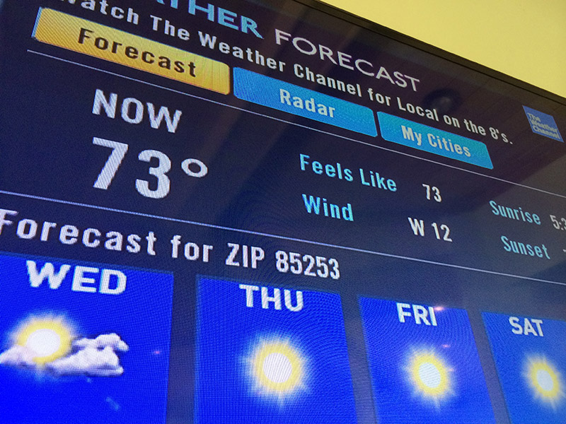 Weather Channel Back on DIRECTV, New Features Added