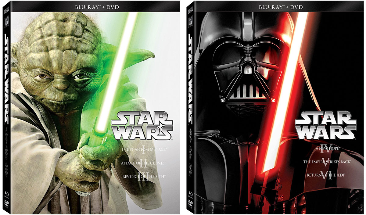 Star Wars Trilogy Blu-ray Boxed Sets On Sale