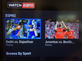 The WatchESPN channel review on Roku