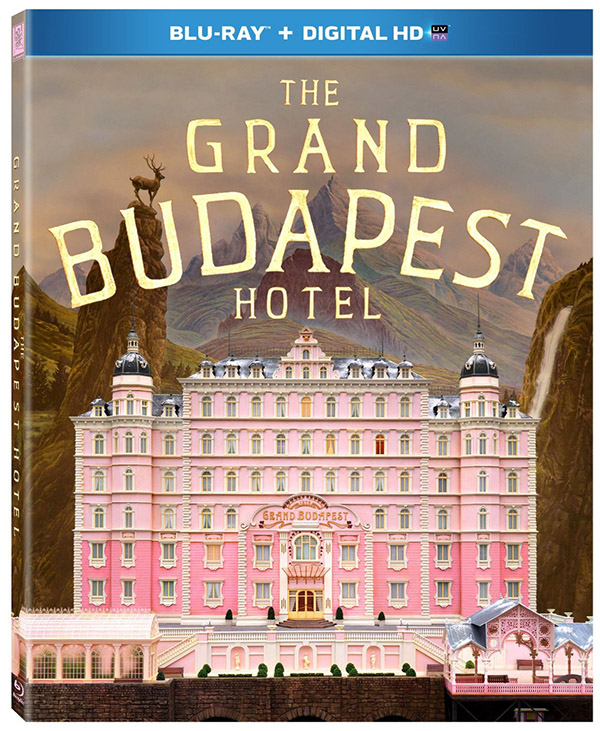 The Grand Budapest Hotel Blu-ray UltraViolet