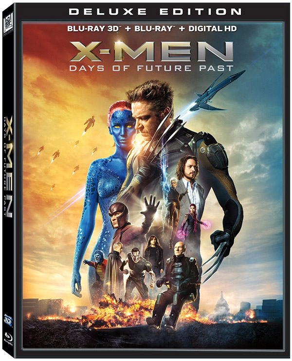 X-Men Days of Future Past 3D Blu-ray