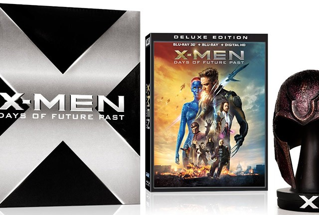 X-Men Days of Future Past Amazon Exclusive Blu-ray Magneto Helmet