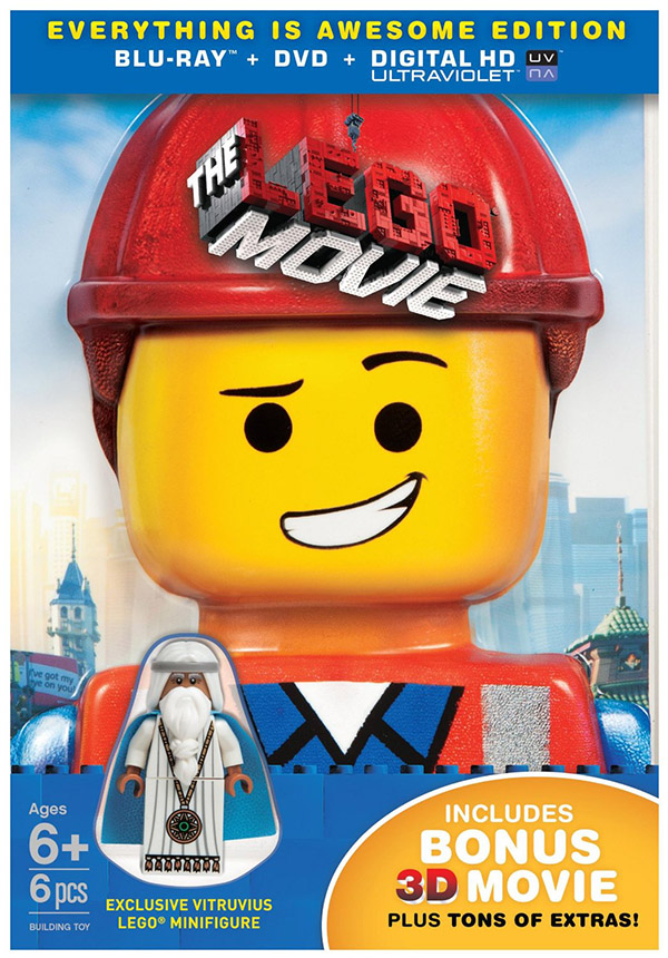 the lego movie exclusive blu-ray