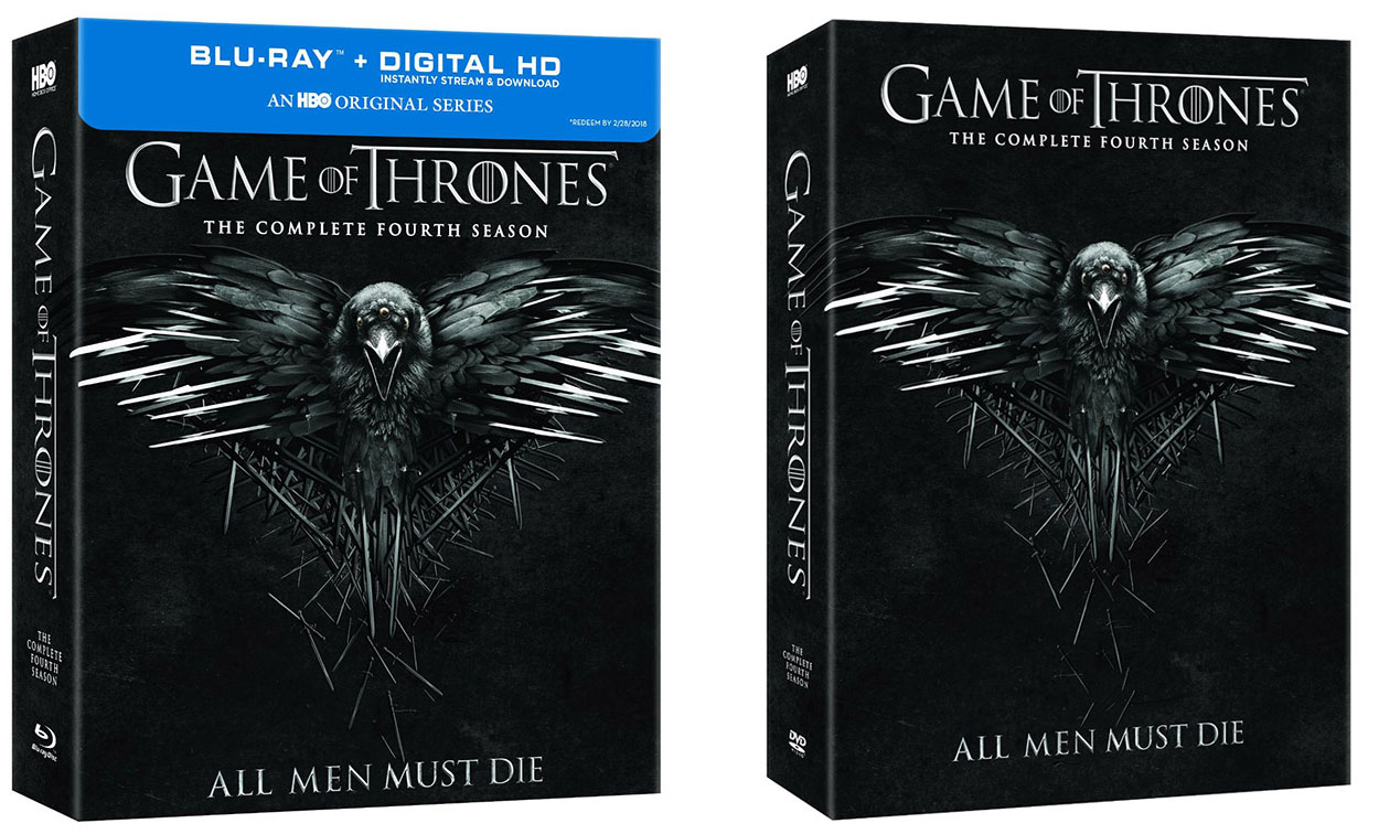 'Game of Thrones: Season 4' released to Blu-ray & DVD – HD ...