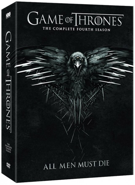 Game of Thrones Season 4 DVD 600