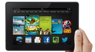 Amazon Back to School Sale on Kindle Fire HD tablets