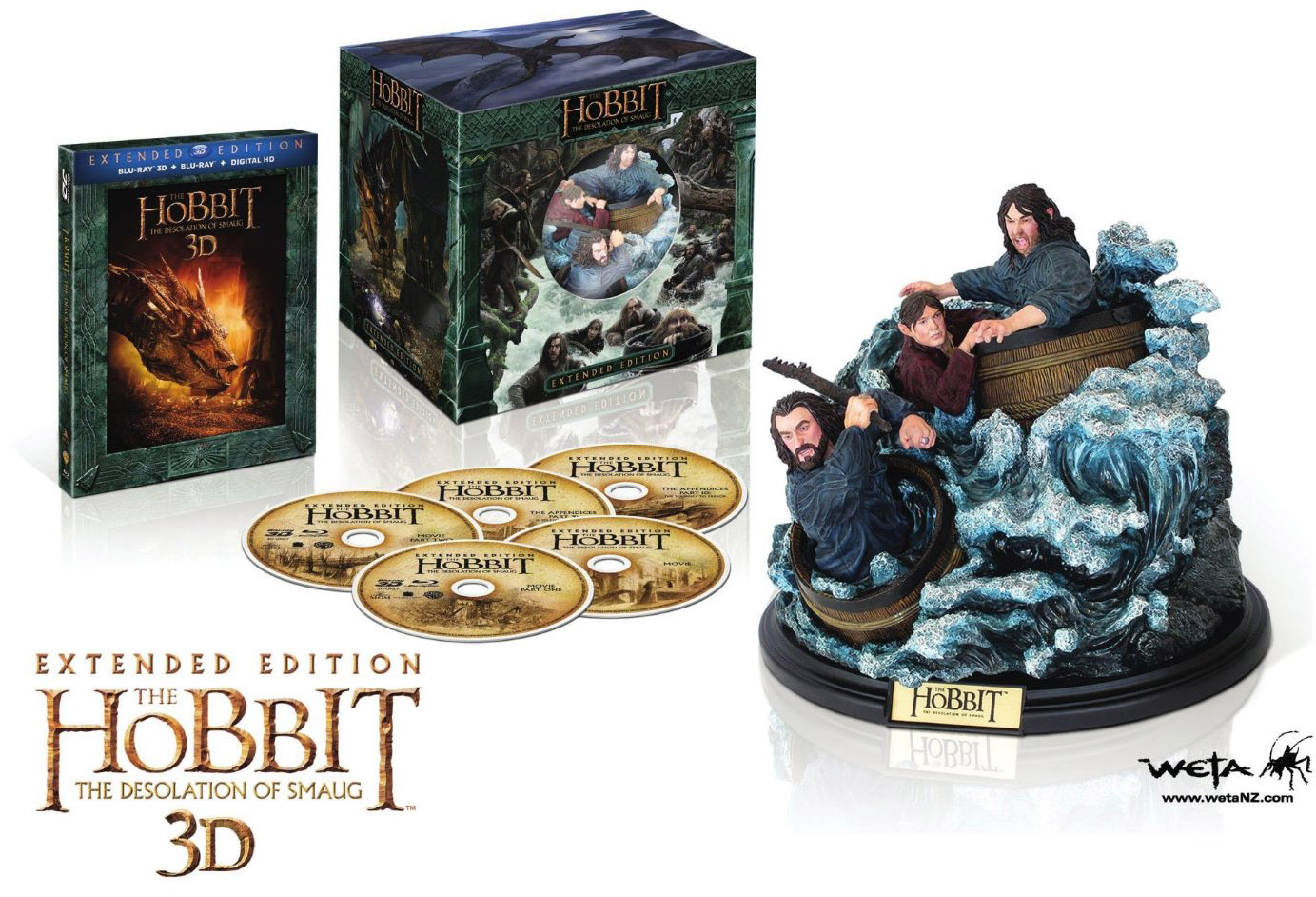 The Hobbit The Desolation of Smaug Extended Edition Amazon Exclusive Open