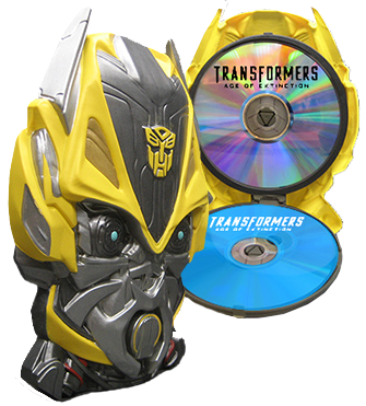 Transformers Age Of Extinction Walmart Blu-ray Exclusive BumbleBee Package