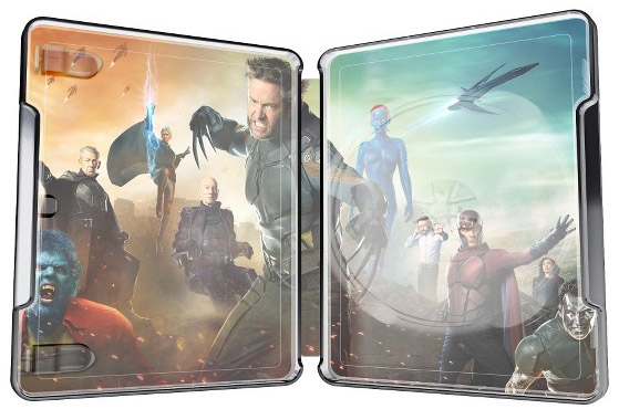 X-Men Days of Future Past Target Exclusive Metalpak Open