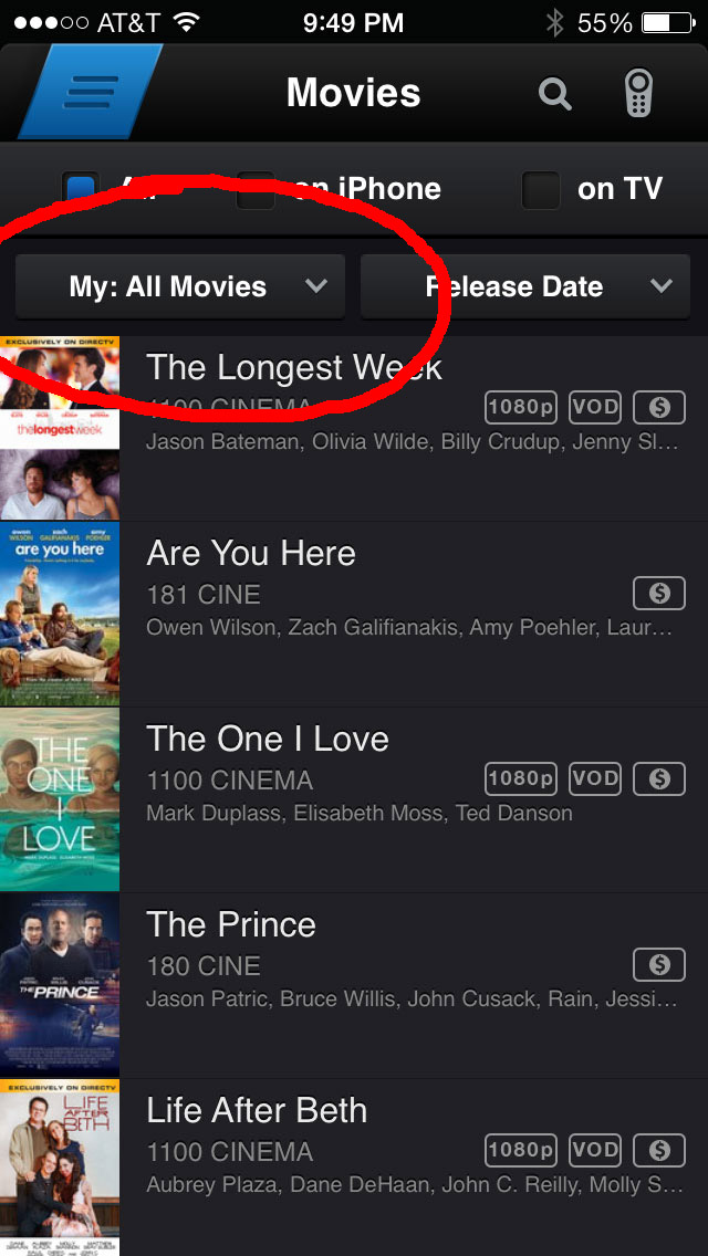 where to find free movies on directv