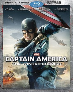 Captain America The Winter Soldier Blu-ray 3D