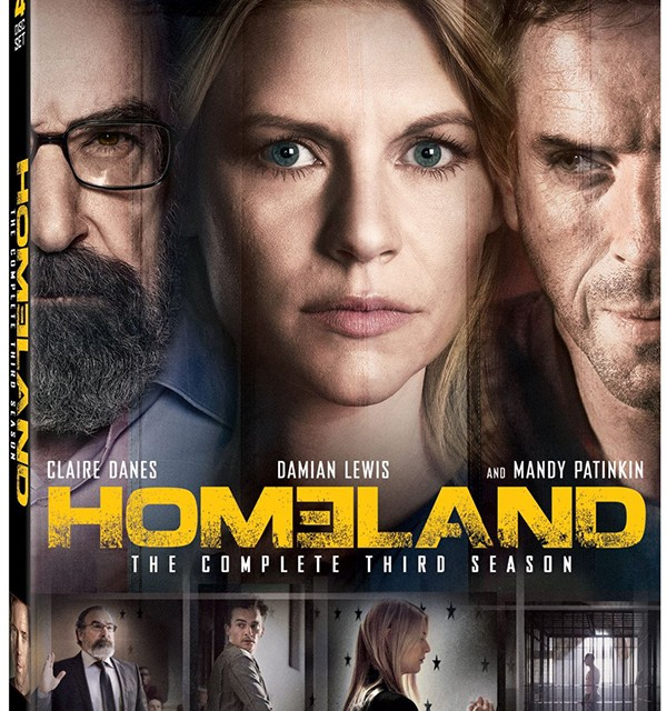 Homeland Season 3 Blu-ray