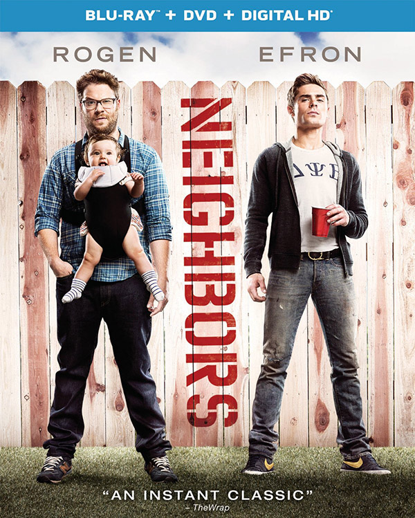 Neighbors Blu-ray DVD Combo Digital HD