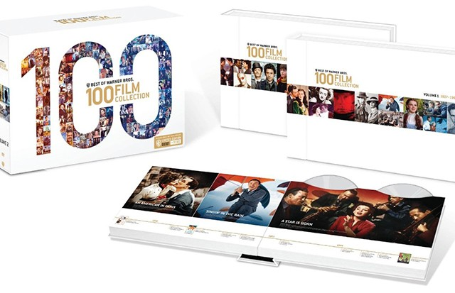 Warner Bros Best of 100 Films Blu-ray Open