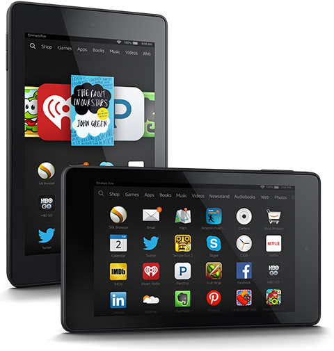 amazon fire hd 6 two views