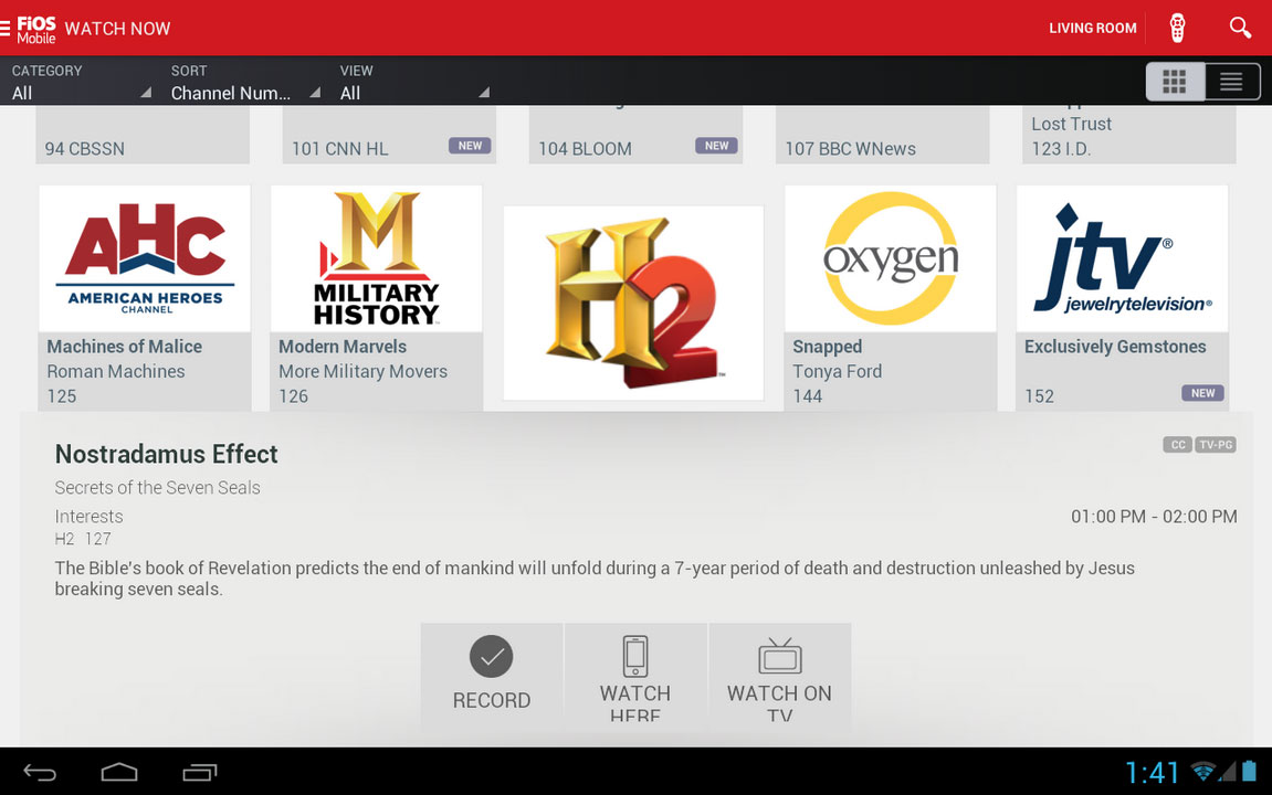 Verizon Fios Adds 10 Live Channels To Mobile Apps Hd Report