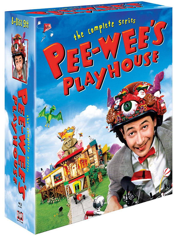 Pee-wee's Playhouse The Complete Series Blu-ray