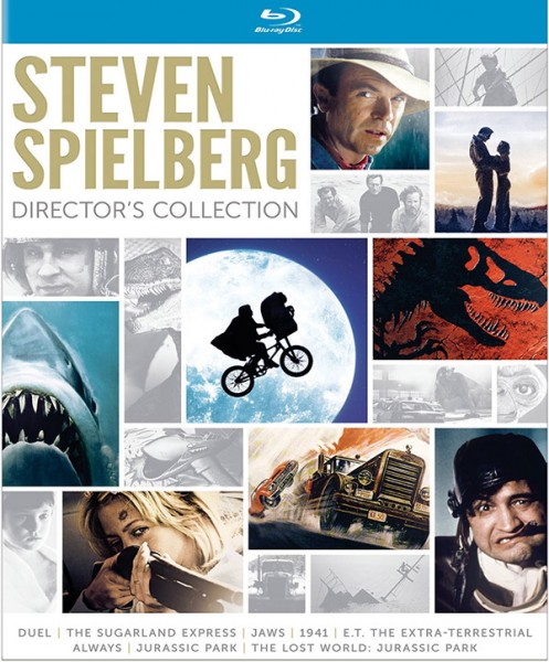 Steven Spielberg Director's Collection Blu-ray 600px