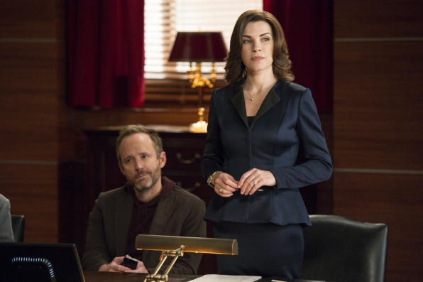 The Good Wife Alicia and Neil Gross