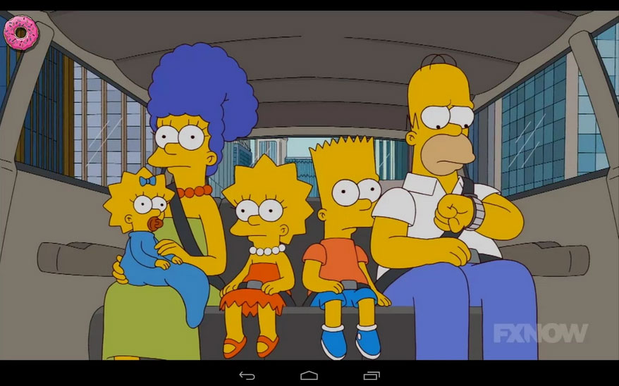 Every episode of Simpsons now on FXNow app