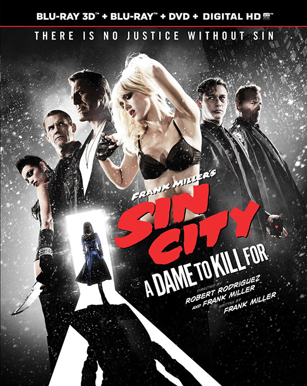 Frank Miller's Sin City A Dame to Kill For Blu-ray DVD Digital HD
