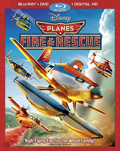 Planes Fire and Rescue Blu-ray Digital