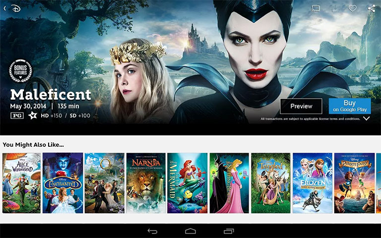 Disney Movies Anywhere now available on Android devices