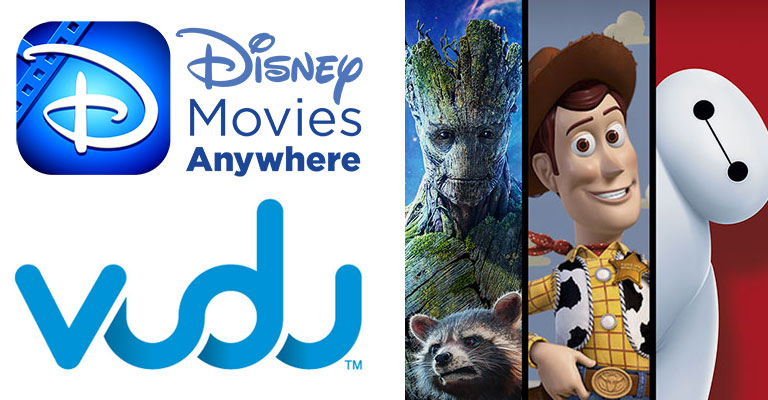 Disney Movies Anywhere service adds Vudu titles [Updated]