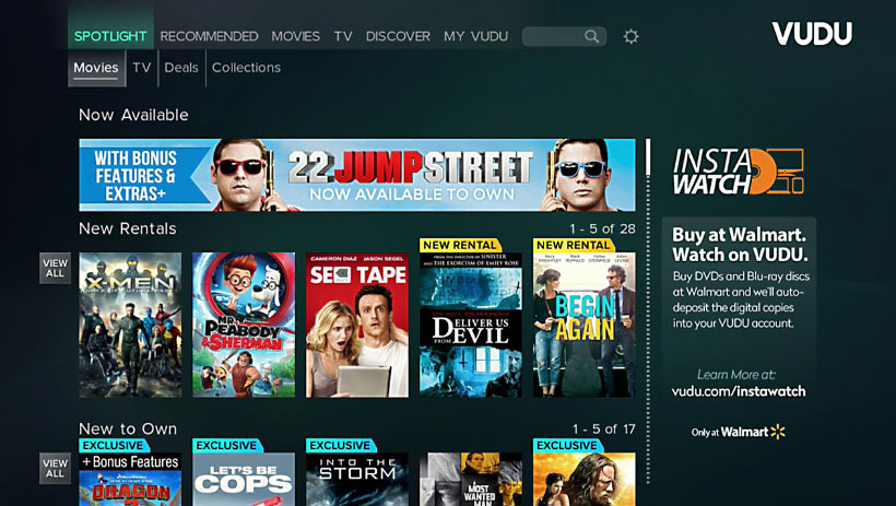 Vudu rolls out updated app on PlayStation